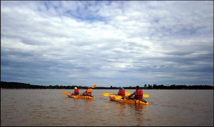 Kayaking to Cambodia