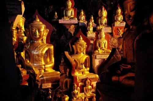 Pindaya cave temples, Burma