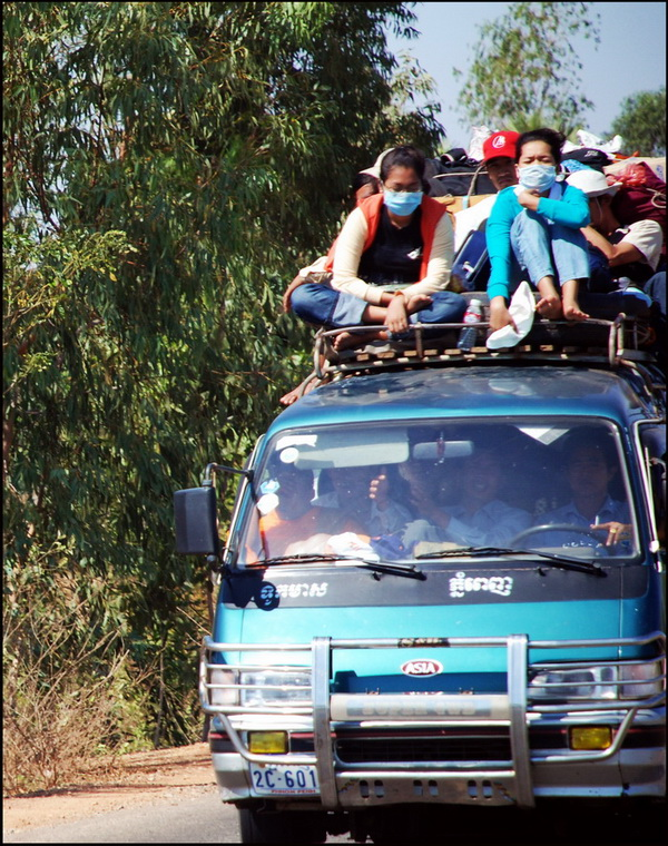 The road to Kampot
