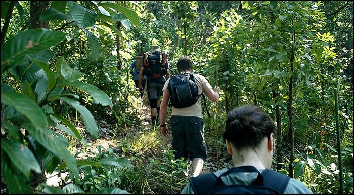 Thai National Parks. Trekking Mae Charim