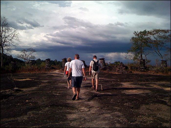 Hiking to Phu Asa