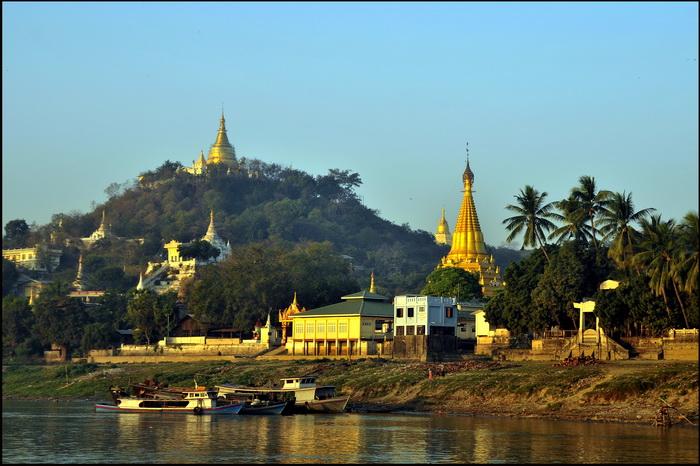 Pagodas at Sagaing