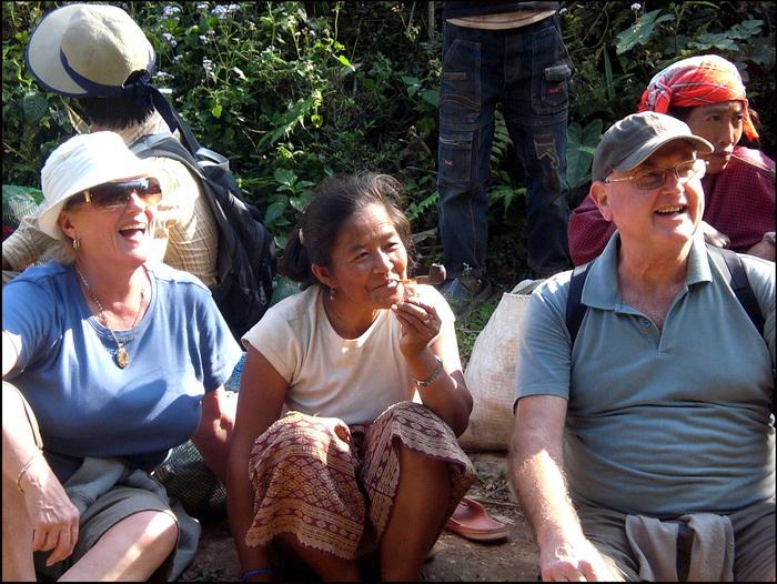 Hiking break to meet the locals in Nam Tha, Laos