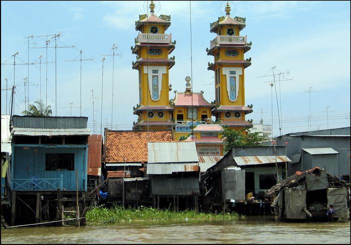 Chau Doc, Cao Dai temple