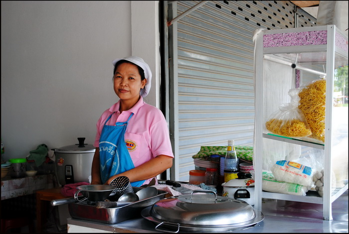 'Chiang Mai noodle' stall in Sop Ruak