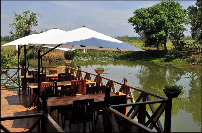 The stunning Kingfisher Eco-lodge