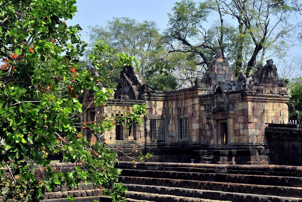 Thailand World Heritage Sites. Muang Tam