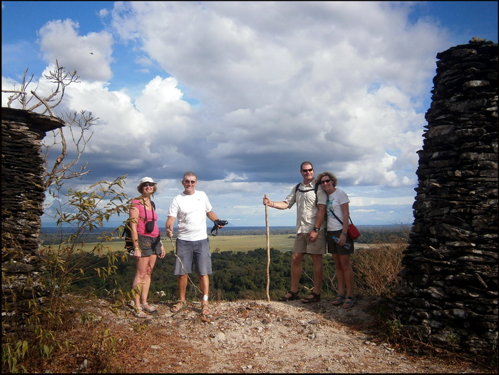 A half day hike to Phu Asa, Laos