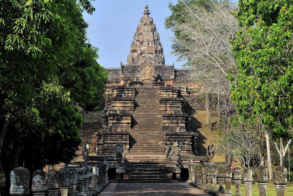 Thailand World Heritage Sites. Phnom Rung