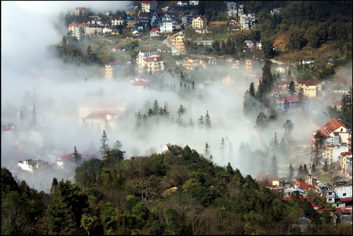 Sapa in the mist, 2