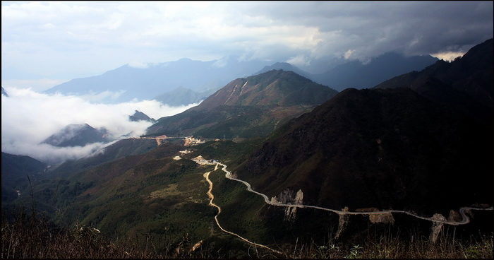 The road to Sapa