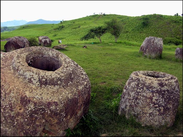Rolling UXO-filled grasslands of the POJ