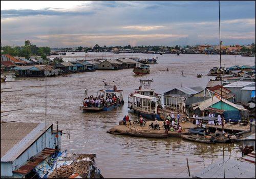Chau Doc, Vietnam - Another favourite Southeast Asian town