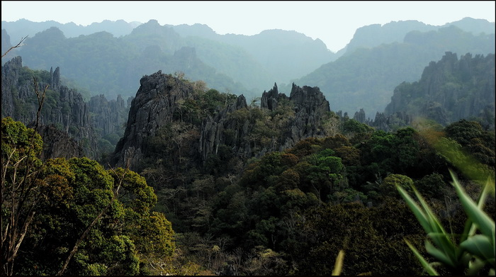 Spectacular scenery of Hin Boun