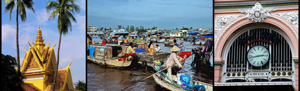 Vietnam and Cambodia tour, The Mekong Delta