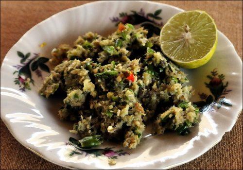 'Nga Tong' - spicy Burmese Fish Dip