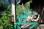 Relaxing at Sala Hin Boun
