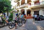 Street in Siem Reap, Casa Angkor Hotel