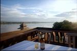 mekong sunset at Vientiane