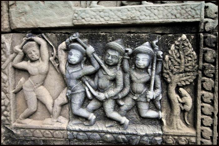 Baphuon reliefs