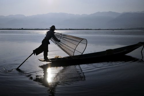Fishermen of Lake Inle, Burma