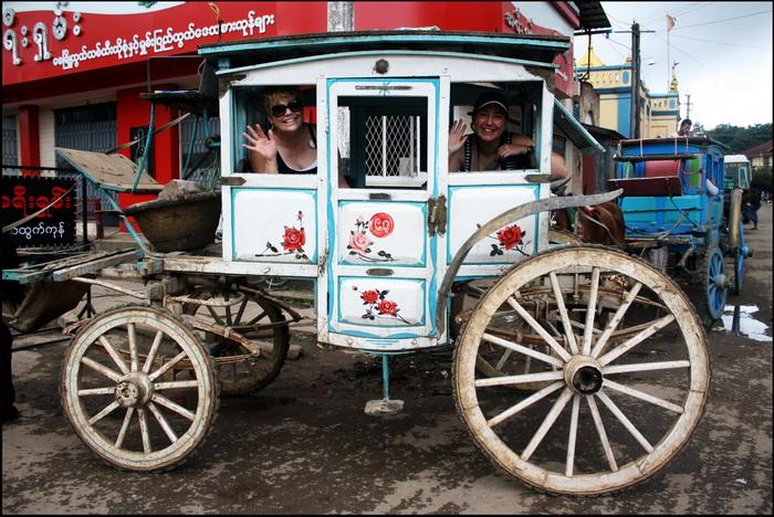 Local transport in Maymo or Pyin U Lwin