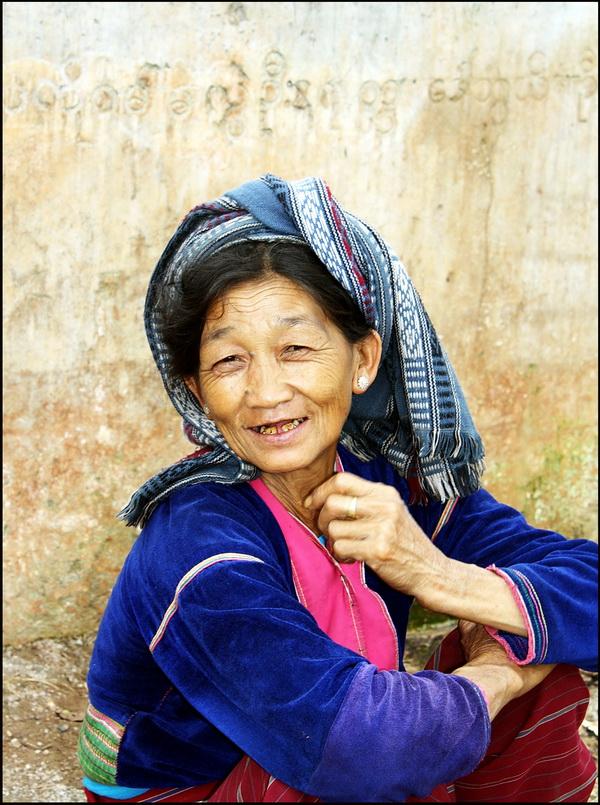 Palaung woman near Kalaw