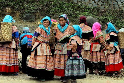 Vietnam visa regulations, Bac Ha, Flower Hmong