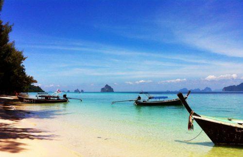 Koh Kradan an idyllic island in southern Thailand