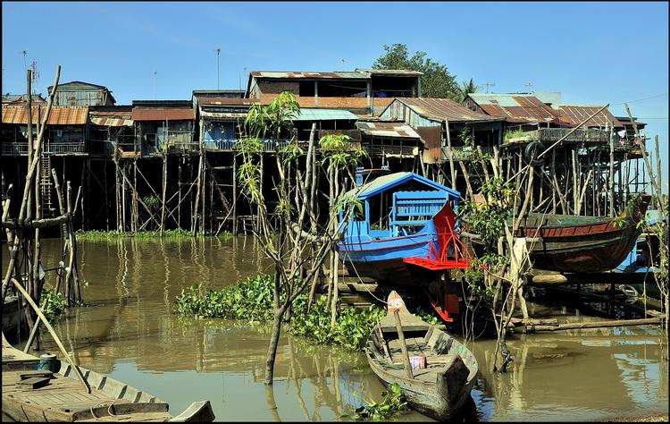 Suburbs of Kompong Chnang