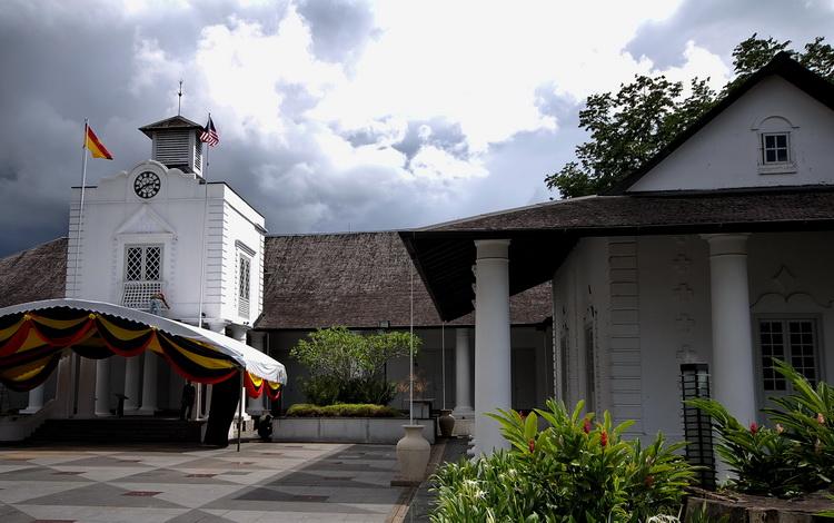 Malaysia World Heritage Sites. Kuching, the old courthouse