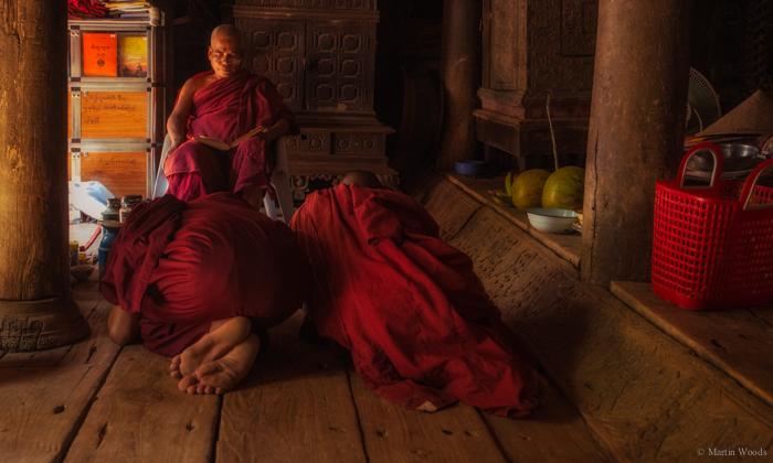 Monks at Inva