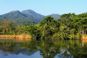 Koh Chang  - the jungle-clad mountainous interior