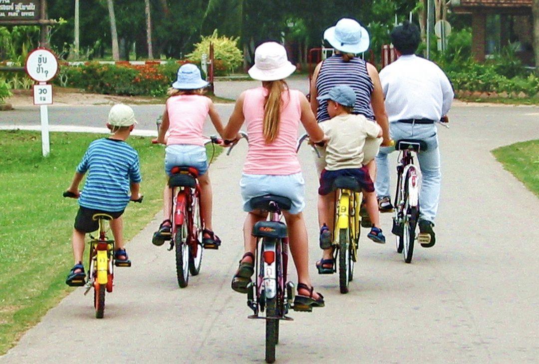Thailand, Sukhothai cycling