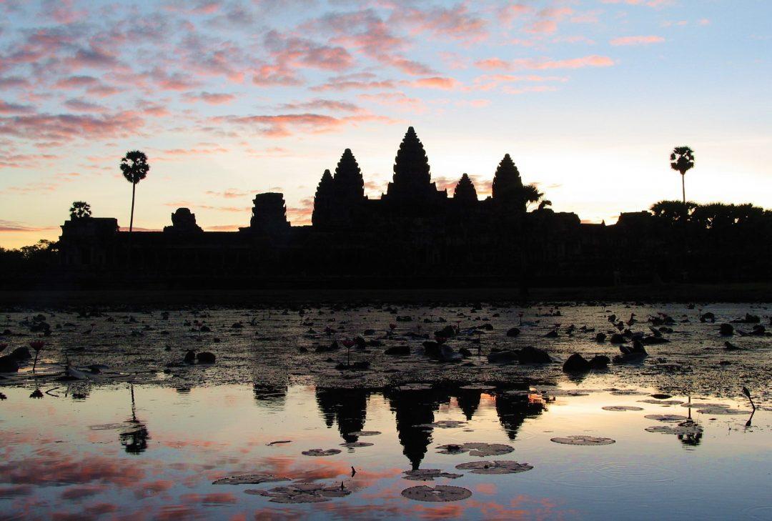 Cambodia, Angkor sunrise