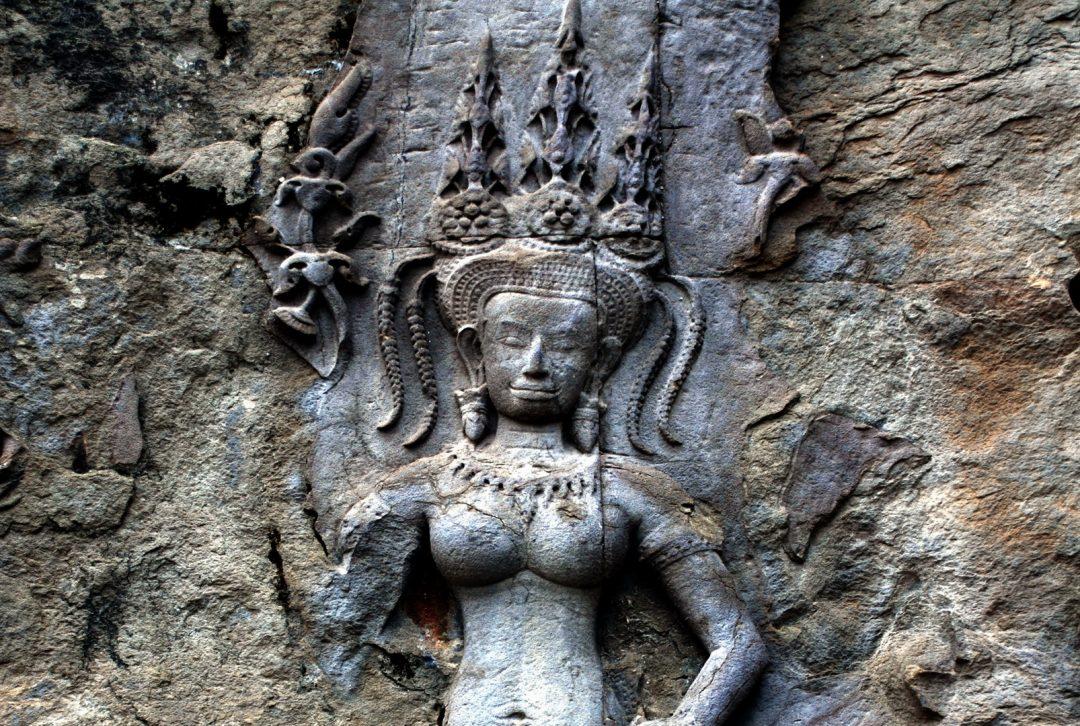 Cambodia, Angkor apsaras