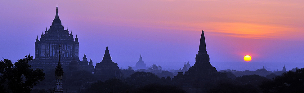 Burma-Bagan-sunrise