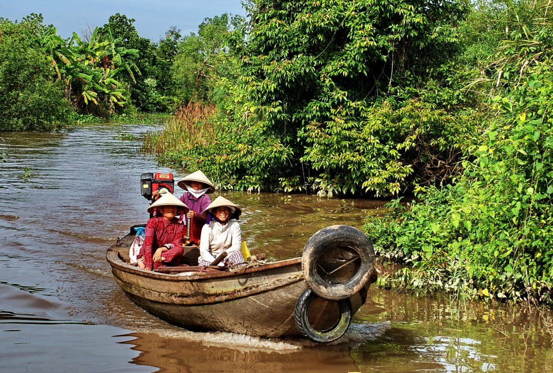 The Mekong Delta, Vietnam, Saigon to Angkor, Can Tho