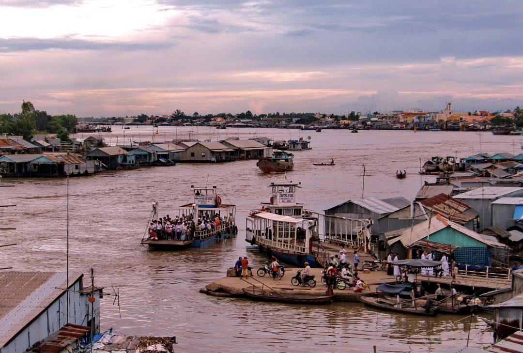 Vietnam, the Mekong Delta at Chau Doc