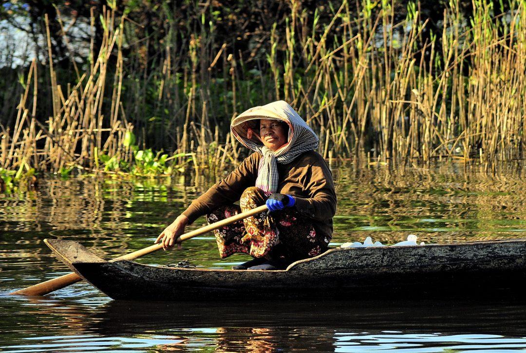 Cambodia, Sangkar River