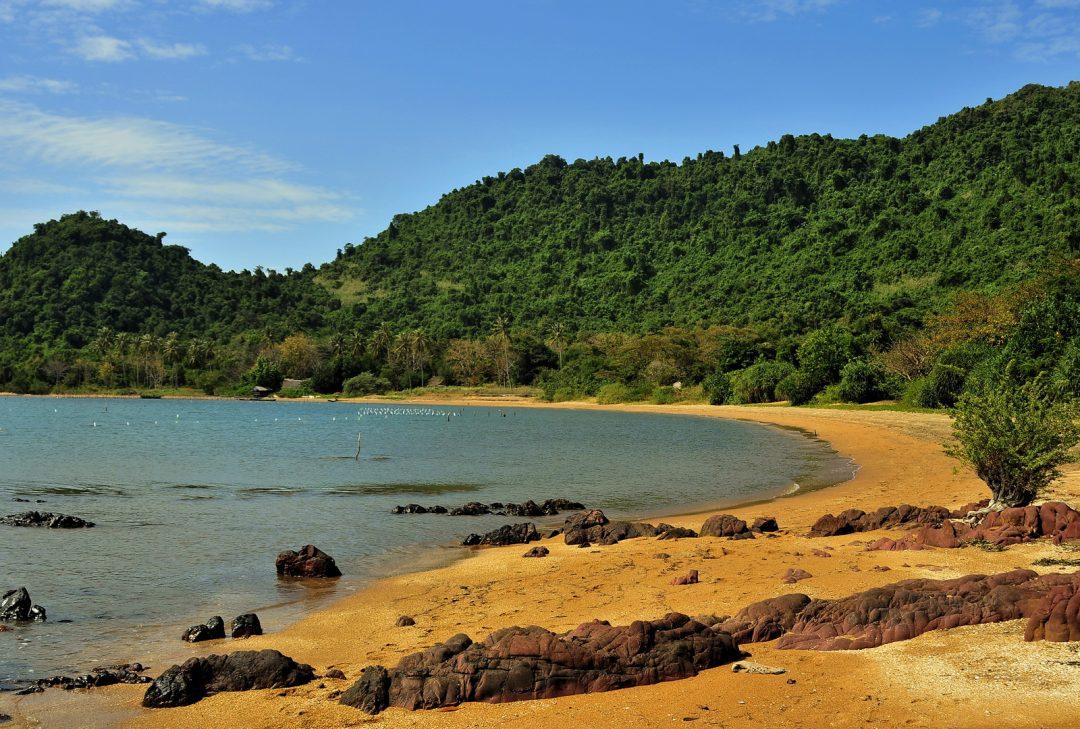 Cambodia, Rabbit island, Koh Tonsai
