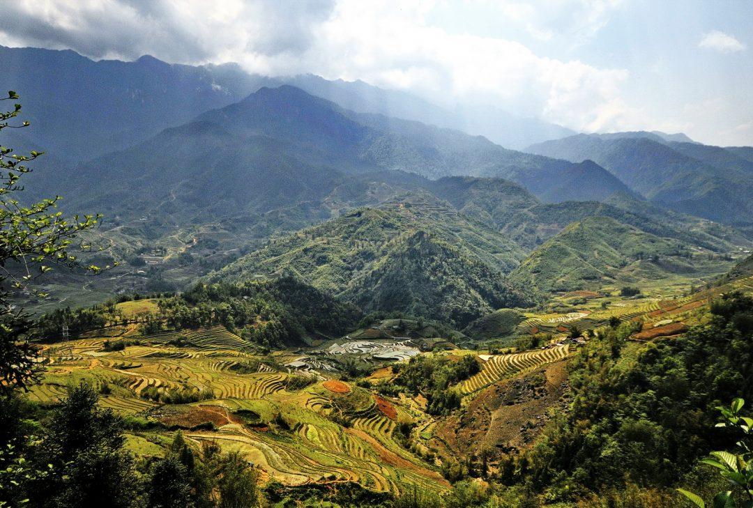 Vietnam, landscape near Sapa