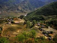Dzao village near Sapa