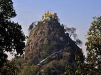 Burma tour, Mount Popa