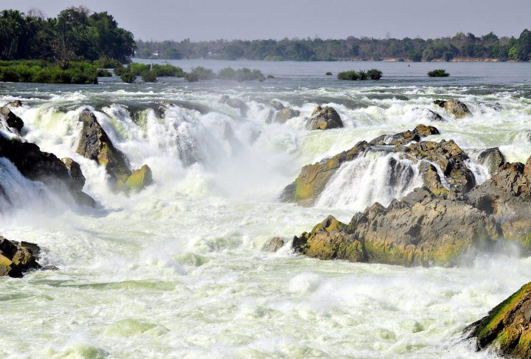 Laos, Khone Phapaeng Falls