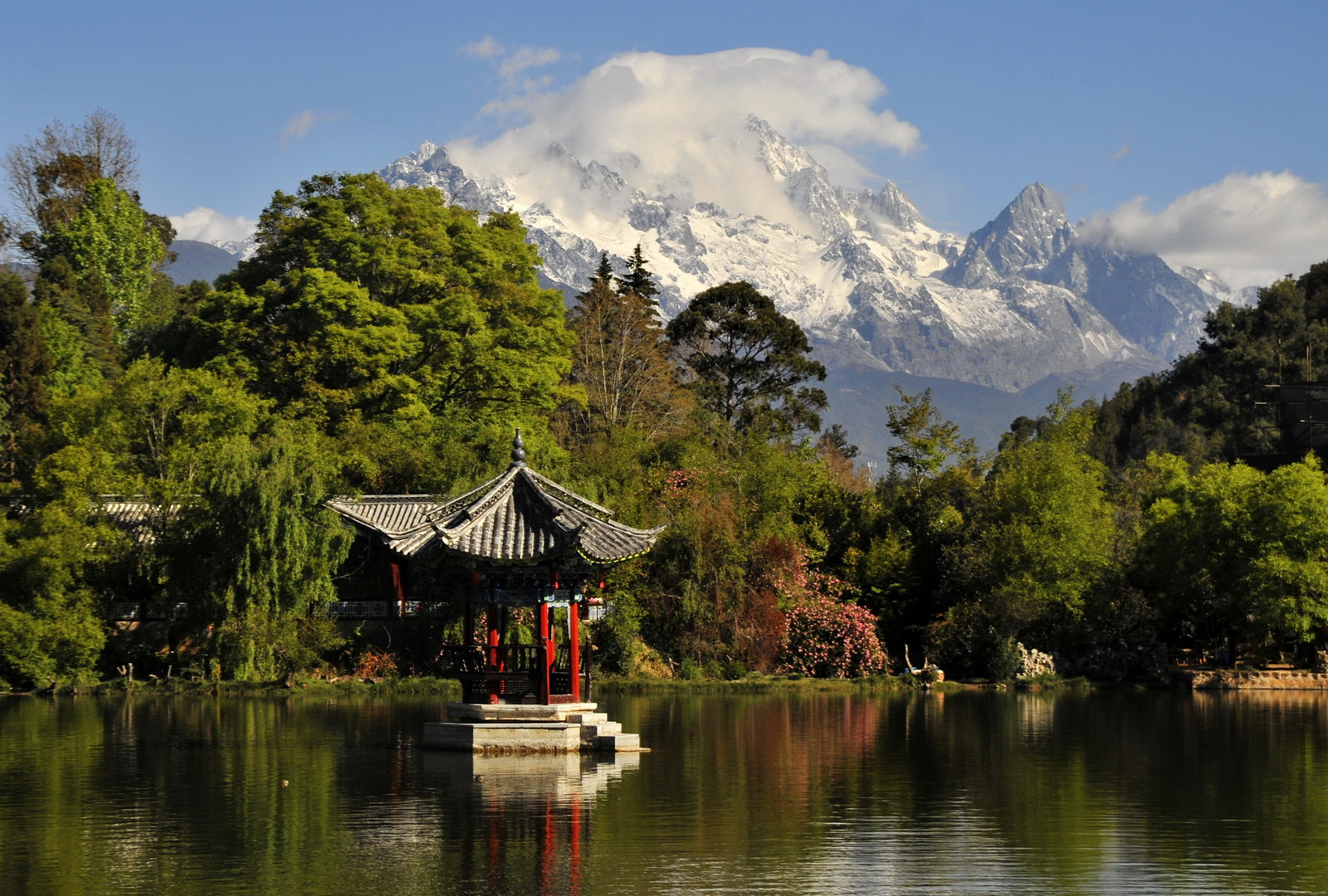 World Southern China tour, Lijiang, Black Dragon Pool