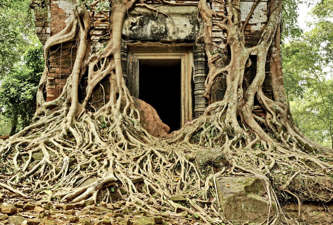 Cambodia, Koh Ker ancient city
