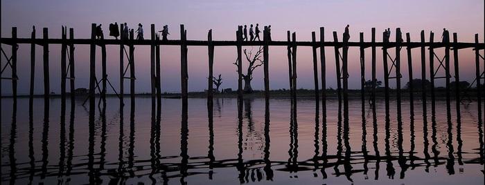 Burma (Myanmar), U Bein Bridge
