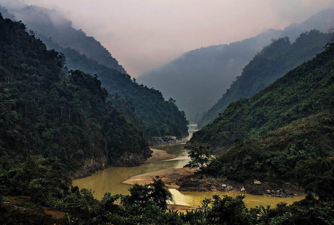 Vietnam, northern landscape