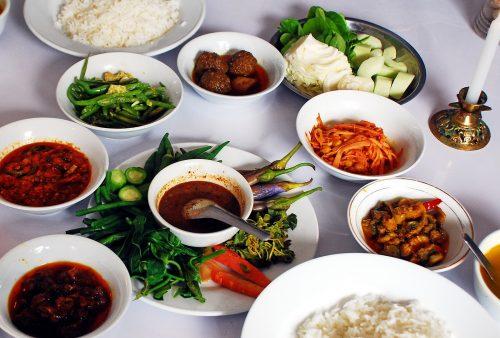 Burma, Myanmar, local restaurant, Kalaw